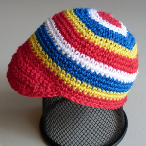 Newsboy Carnival Cap - Shutupimcounting - Pattern Share