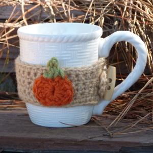 Pumpkin Mug Cozy
