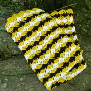 (2) Diamond Dishtowel