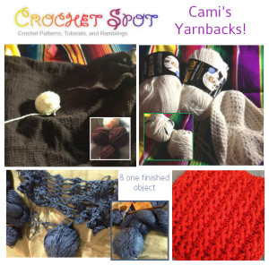 artlikebread Crochet Spot Finish in 15 Caissa McClinton Yarnbacks & One FO