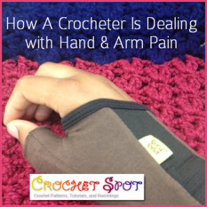Crochet Hand Arm Pain