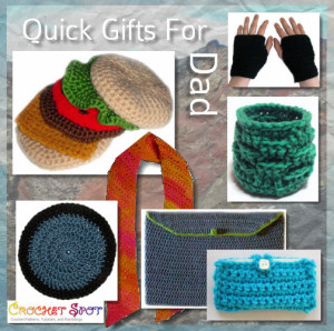 Father's Day Quick Crochet Gifts Round-Up by Caissa McClinton @artlikebread