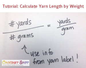 How to Calculate Yarn Length by Weight a Tutorial by Caissa McClinton @artlikebread 9