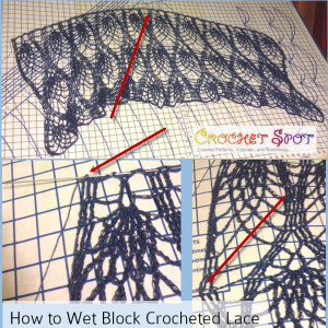 How to Wet Block Crocheted Lace a Free Tutorial by Caissa McClinton @artlikebread 6
