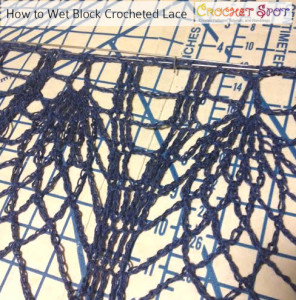 How to Wet Block Crocheted Lace a Free Tutorial by Caissa McClinton @artlikebread 7