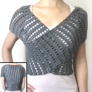 Free Crochet Pattern Wrap Sweater : Crochet Spot Blog Archive Crochet Pattern: Striped ...