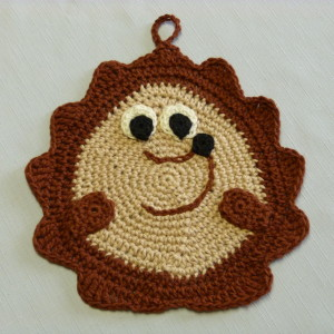 Hedgehog Potholder