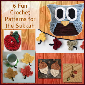 Six Fun Crochet Patterns for the Sukkah a Round Upl by Caissa McClinton @artlikebread