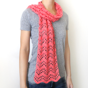 Chevron Lace Shawl Crochet Pattern : Crochet Spot Blog Archive Crochet Pattern: Lacy ...