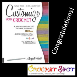 Caissa McClinton @artlikebread Crochet Spot Finish in 15 Contest Giveaway Customize Your Crochet by Margaret Hubert