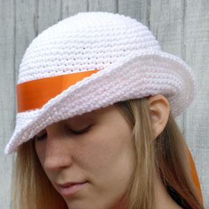 crochet vintage glenda hat