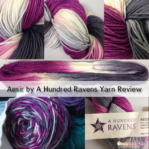 Aesir by A Hundred Ravens Yarn Review on Crochet Spot by @artlikebread Caissa McClinton Crochet