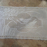 Molly finished this elegant doily made with size 10 thread.