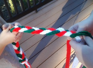 braiding garland