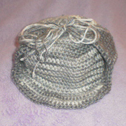 Here is a hat that Susanne is working on for her grandson.
