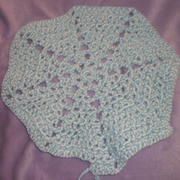 Susanne is making this crochet rug with T-yarn.