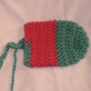 Susanne is working on this Christmas stocking.
