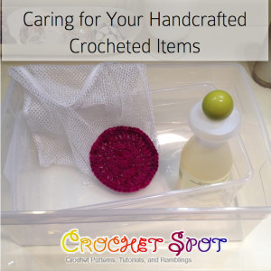 1 Caring for Your Handcrafted Crochet Items by Caissa McClinton @artlikebread on @crochetspot