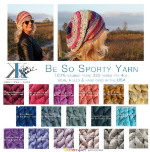 Be So Sporty Yarn Review on Crochet Spot