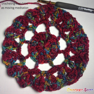 Crocheting Mandalas as Moving Meditation by Caissa McClinton @artlikebread on @crochetspot 3