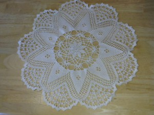 One of my favorite doilies!