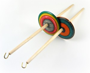 Bottom Whorl Drop Spindle by Dave Stanbrough