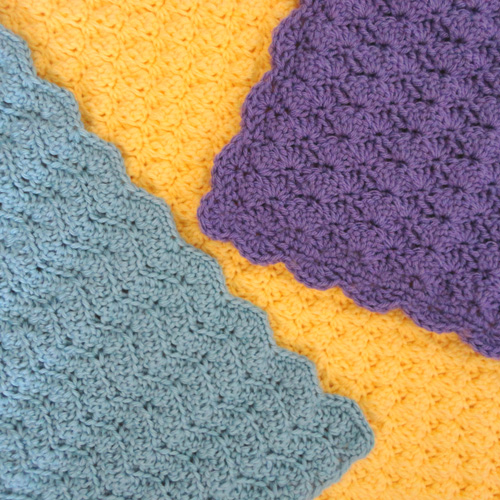 crochet solid blanket stitches