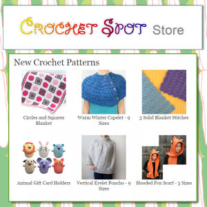 A Free Pattern Winner to the Crochet Spot Store on @crochetspot by Caissa McClinton @artlikebread