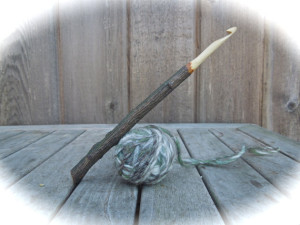 Apple Wood Crochet Hook