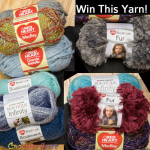 2 Win this $50 Prize Pack from Red Heart on @crochetspot by Caissa McClinton @artlikebread 2