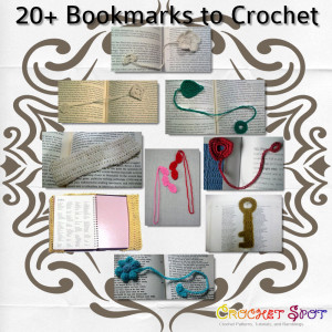 20+ Crochet Bookmarks Roundup by Caissa McClinton @artlikebread for @crochetspot 2