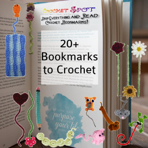 20+ Crochet Bookmarks Roundup by Caissa McClinton @artlikebread for @crochetspot
