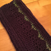 So excited that Linda made a SECOND cowl.