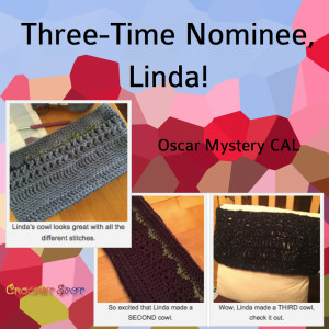 Three-Time Nominee, Linda - Caissa McClinton @artlikebread for @crochetspot