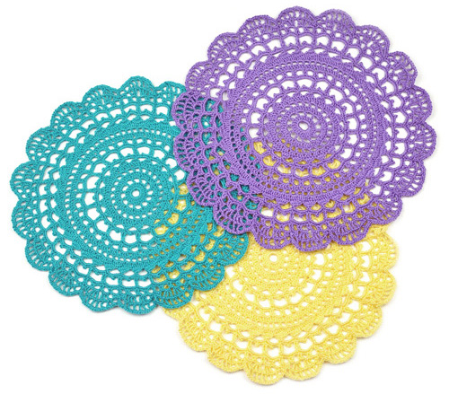 Crochet Doily Patterns Free For Beginners : Crochet Spot Blog Archive Crochet Pattern: First-Timer ...