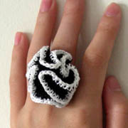 Crazy Ruffle Ring