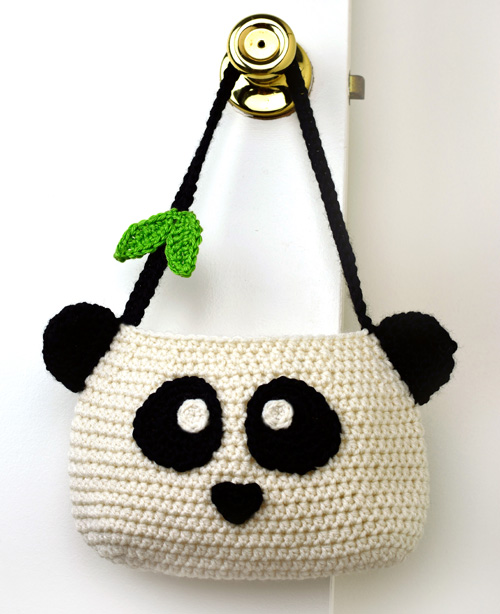 Crochet Spot Blog Archive Crochet Pattern Panda Purse Crochet