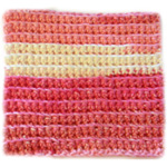 Dishcloth with Ridges