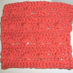 Bumps and Ridges Washcloth
