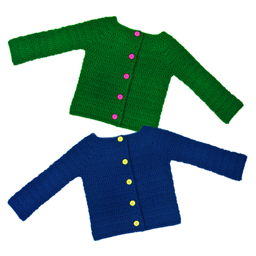 crochet-classic-children-cardigan-sweater