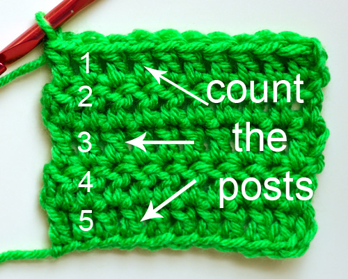 Crochet Stitches Counting : ... How to Count Crochet Stitches - Crochet Patterns, Tutorials and News