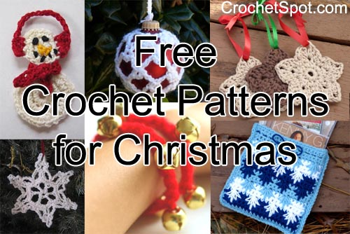 Crochet Spot Blog Archive Free Crochet Patterns For Christmas