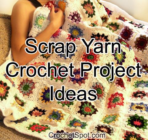 Crochet Spot Blog Archive 8 Scrap Yarn Crochet Project Ideas
