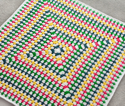 Crochet Spot Blog Archive Crochet Pattern Solid Granny Square