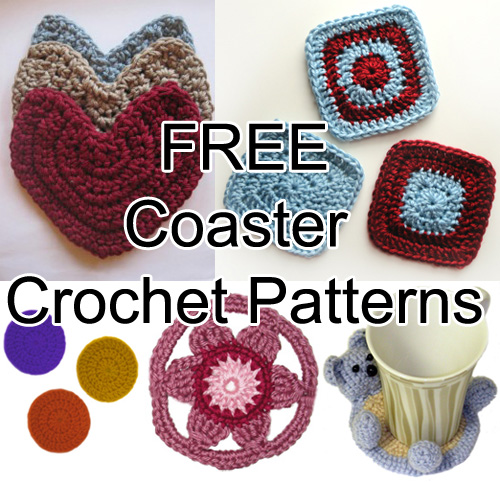 Crochet Spot Blog Archive Free Coaster Crochet Patterns