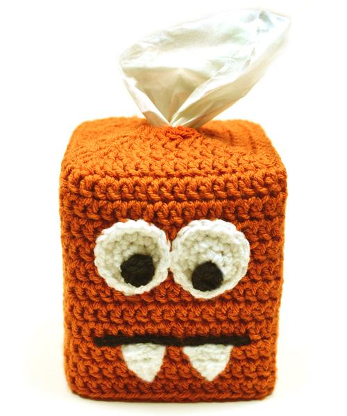 Crochet Spot Blog Archive Crochet Pattern Monster Tissue Box