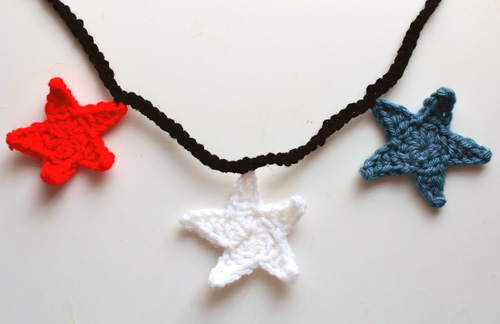 Crochet Spot Blog Archive Crochet Pattern Star Garland