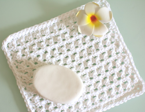 Crochet Spot Blog Archive Free Crochet Pattern Spa Washcloth