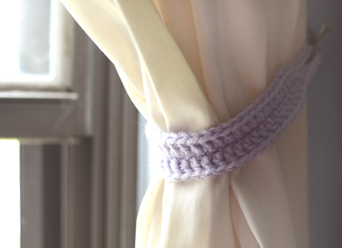 Crochet Spot Blog Archive Crochet Pattern Classic Curtain Tie