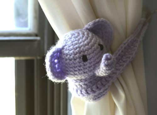 Baby Elephant Crochet Hat | AllFreeCrochet.com | 366x500